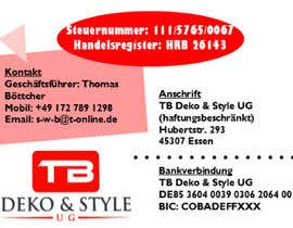 #1 untuk We need design for business cards + letters oleh redouaneaberdin