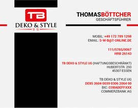 #6 untuk We need design for business cards + letters oleh lexgraphic