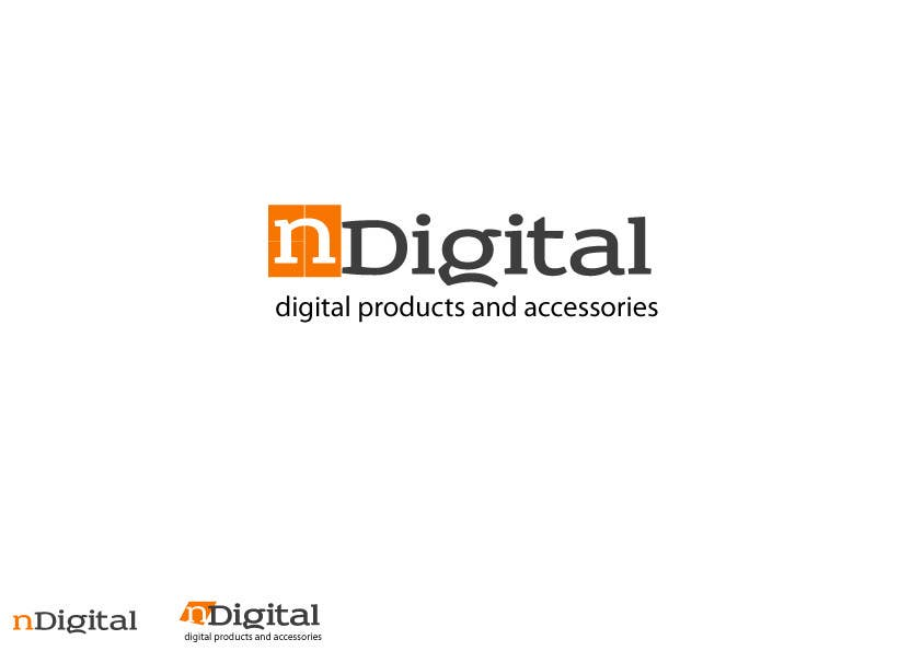 #121 for Design a Logo for a new company - nDigital by creativeartist06