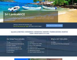 Lakshmipriyaom tarafından Design a Website Mockup for www.SriLankaMICE.com için no 19