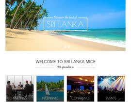 lianalala tarafından Design a Website Mockup for www.SriLankaMICE.com için no 13