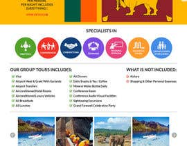 Nro 22 kilpailuun Design a Website Mockup for www.SriLankaMICE.com käyttäjältä dani786
