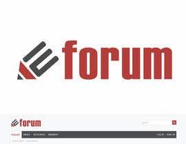 #160 untuk eForum logo oleh RebelliousDesign