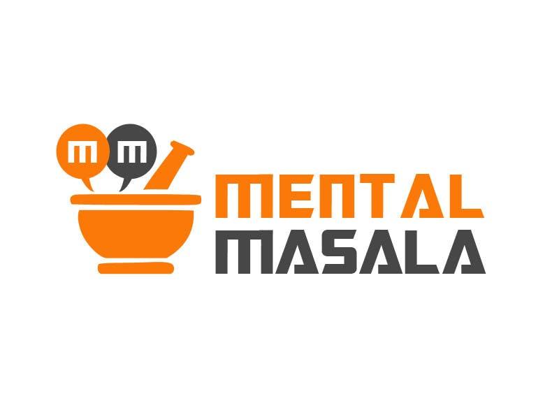 Konkurrenceindlæg #                                        23                                      for                                         Design a Logo for Mental Masala (www.mentalmasala.com)