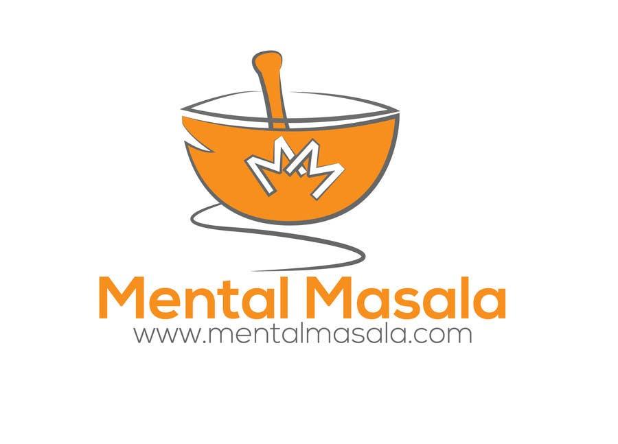 Konkurrenceindlæg #                                        1                                      for                                         Design a Logo for Mental Masala (www.mentalmasala.com)