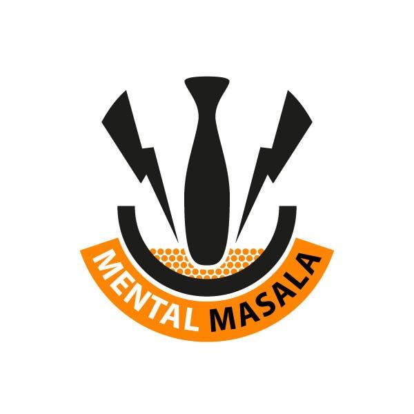 Konkurrenceindlæg #                                        26                                      for                                         Design a Logo for Mental Masala (www.mentalmasala.com)
