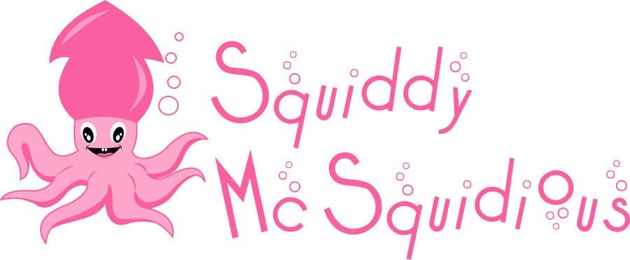 "Proposition n°                                        13                                      du concours                                         Design a Logo for ""Squiddy McSquidious"""