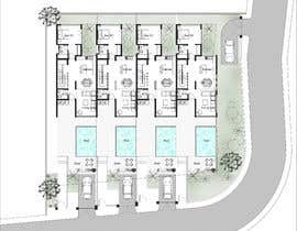 #27 for Help me draw 4 design vacation homes/apartments within 1140m2 land (in Curacao) by Rawanwaleed