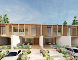#43 for Help me draw 4 design vacation homes/apartments within 1140m2 land (in Curacao) by makniamine97