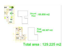 #33 for Help me draw 4 design vacation homes/apartments within 1140m2 land (in Curacao) by hirenpatel140198