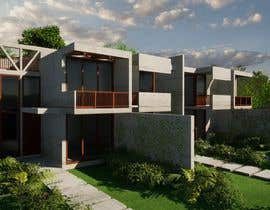 #50 for Help me draw 4 design vacation homes/apartments within 1140m2 land (in Curacao) by SsArchInt