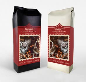 #22 cho Create Print and Packaging Designs for coffee bag bởi RainMQ