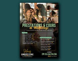 #112 for Flyer for make up lessons by sdinanthi