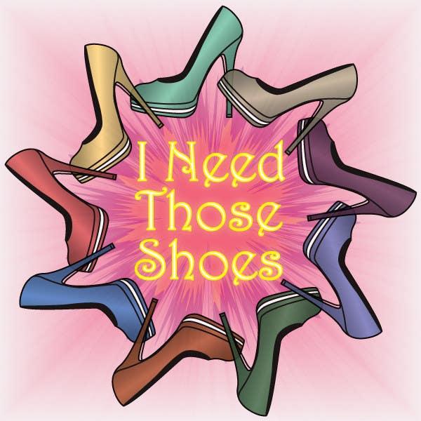 Penyertaan Peraduan #28 untuk Design a Logo for I NEED those shoes