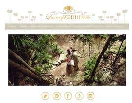 #80 untuk Design a logo, banners, icons, etc for Wedding Planning Website oleh salutyte