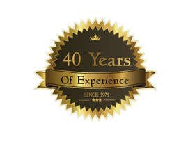 "#3 for Design a Logo for ""40 Years Experience"" af srikanthkanths"