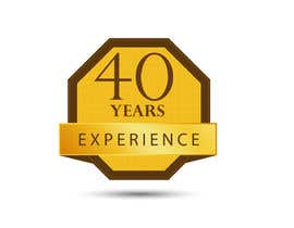 "#34 for Design a Logo for ""40 Years Experience"" by DesignStorm15"