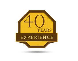 "#35 for Design a Logo for ""40 Years Experience"" by DesignStorm15"
