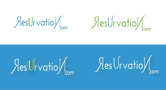 Contest Entry #                                        30                                      for                                         Design a Logo for resUrvation.com