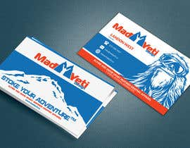 Franstyas tarafından Design some Business Cards for Mad Yeti Design için no 113