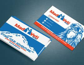 Franstyas tarafından Design some Business Cards for Mad Yeti Design için no 117
