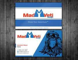 #89 cho Design some Business Cards for Mad Yeti Design bởi renelyncamil