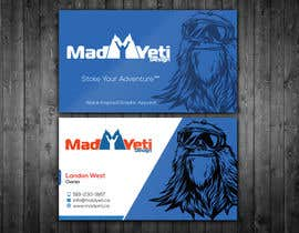 renelyncamil tarafından Design some Business Cards for Mad Yeti Design için no 112