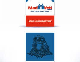 #68 para Design some Business Cards for Mad Yeti Design por Stevieyuki