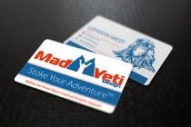 Design some Business Cards for Mad Yeti Design için Graphic Design19 No.lu Yarışma Girdisi