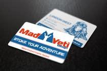 Design some Business Cards for Mad Yeti Design için Graphic Design100 No.lu Yarışma Girdisi
