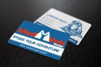 Design some Business Cards for Mad Yeti Design için Graphic Design107 No.lu Yarışma Girdisi