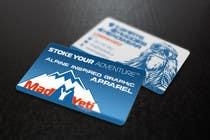 Design some Business Cards for Mad Yeti Design için Graphic Design110 No.lu Yarışma Girdisi