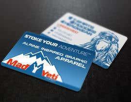 #110 para Design some Business Cards for Mad Yeti Design por s04530612
