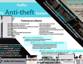 #23 untuk Design a Brochure for a GPS Anti-theft System oleh uniqmanage
