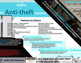 #24 for Design a Brochure for a GPS Anti-theft System af uniqmanage
