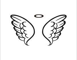 #61 cho Design a pair of angel wings for baby clothing bởi vitamindesigns