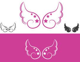 #43 cho Design a pair of angel wings for baby clothing bởi moonblue95