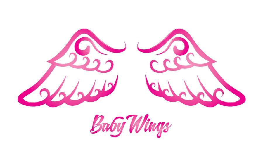 Bài tham dự cuộc thi #21 cho Design a pair of angel wings for baby clothing