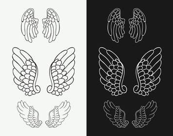 panastasia tarafından Design a pair of angel wings for baby clothing için no 60