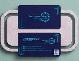 #196 untuk Design Business Cards For Oil and Gas company oleh Shyamals
