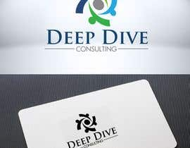 #105 for Logo Graphic design with word mark and tagline included for my organisation Deep Dive Consulting. I would expect brandname if you can think of for Deep Dive Consulting. by Mukhlisiyn