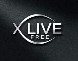 nº 747 pour LOGO CONTEST: X LIVE FREE par eliyasbd0