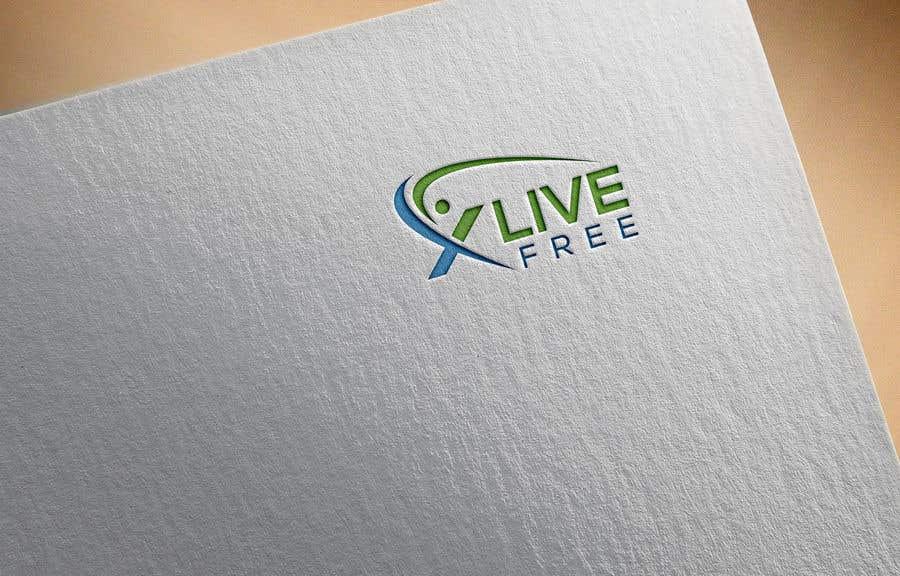 Proposition n°                                        54                                      du concours                                         LOGO CONTEST: X LIVE FREE