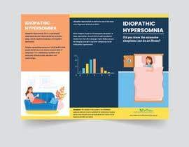 Nro 26 kilpailuun Make a Tri-fold Brochure for Sleep Disorder käyttäjältä imtiazimti