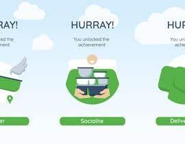 #100 untuk Illustrations needed for unlocked Achievements oleh Refresaq