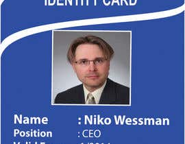 #47 for Design a company ID card by Zakaria099