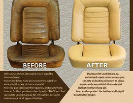 #17 untuk Design a Flyer for Car Interior Leather Restoration and Fabric Cleaning oleh MaKArty