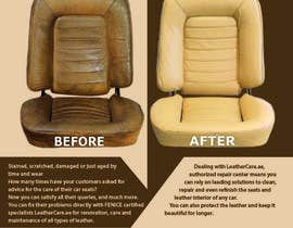 #18 untuk Design a Flyer for Car Interior Leather Restoration and Fabric Cleaning oleh MaKArty