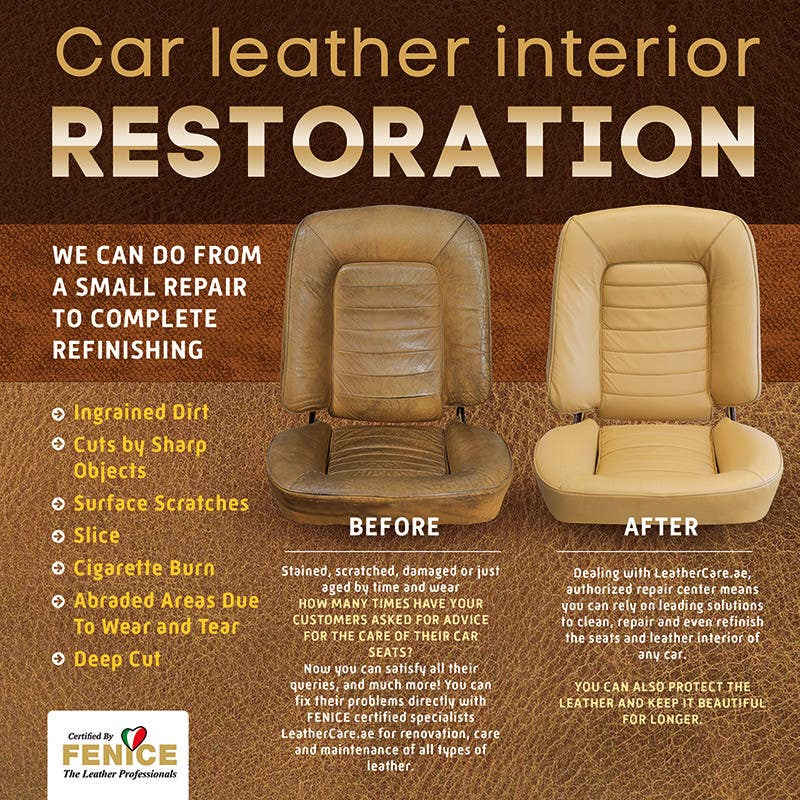Entry #6 by dabanzz for Design a Flyer for Car Interior Leather ...
