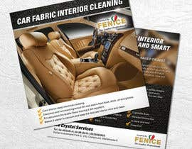 Nro 24 kilpailuun Design a Flyer for Car Interior Leather Restoration and Fabric Cleaning käyttäjältä LantisDesign